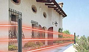Barriere perimetrali antintrusione per villa monopiano - Antifurto fatto in casa ...